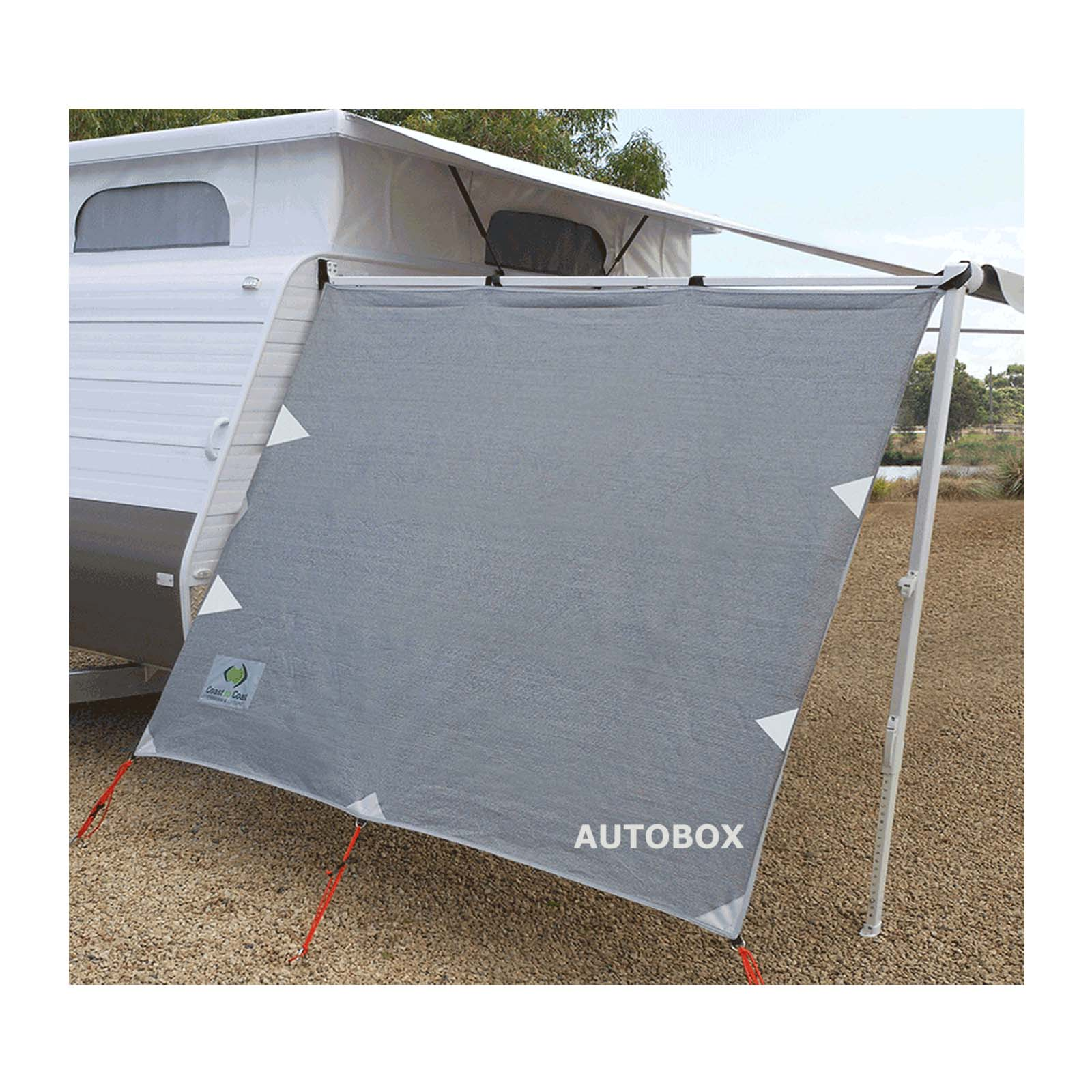 4.0m Coast Caravan Privacy Sunscreen Shade Cover For
