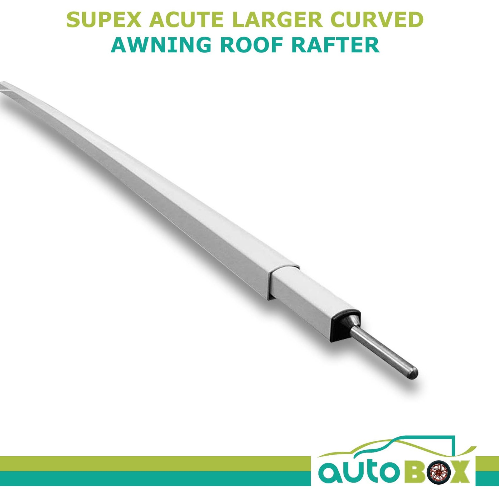 Supex Acute Larger Curved Caravan Awning Roof Rafter