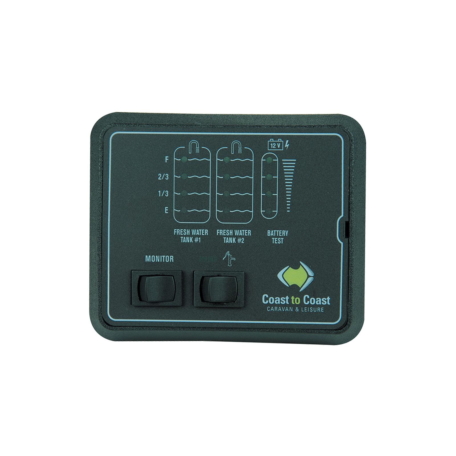 Jrv 2 Water Tank Battery Level Indicator Caravan Gauge W