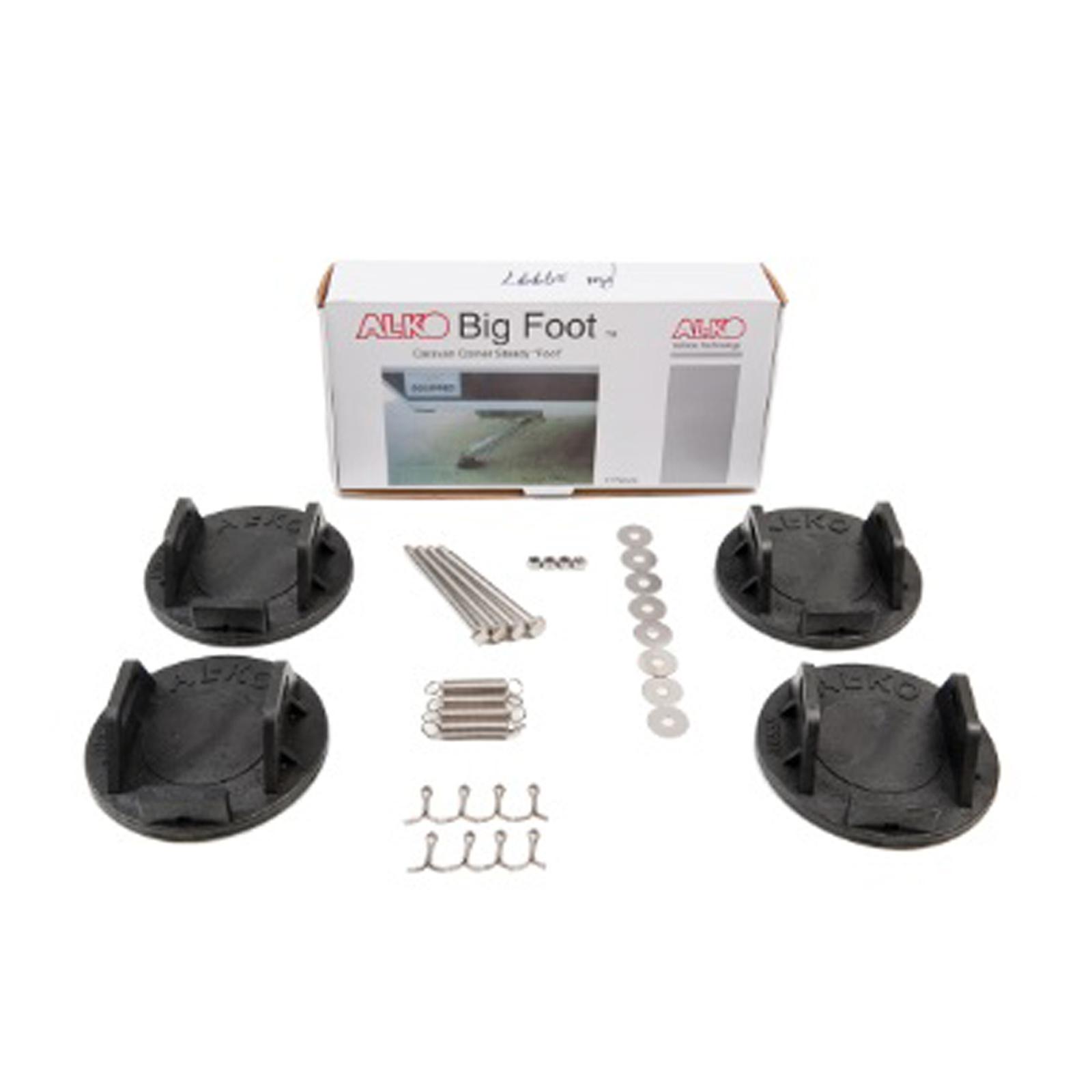 Al Ko Big Foot Caravan Stabilizer Corner Steadies Plate Leg Feet