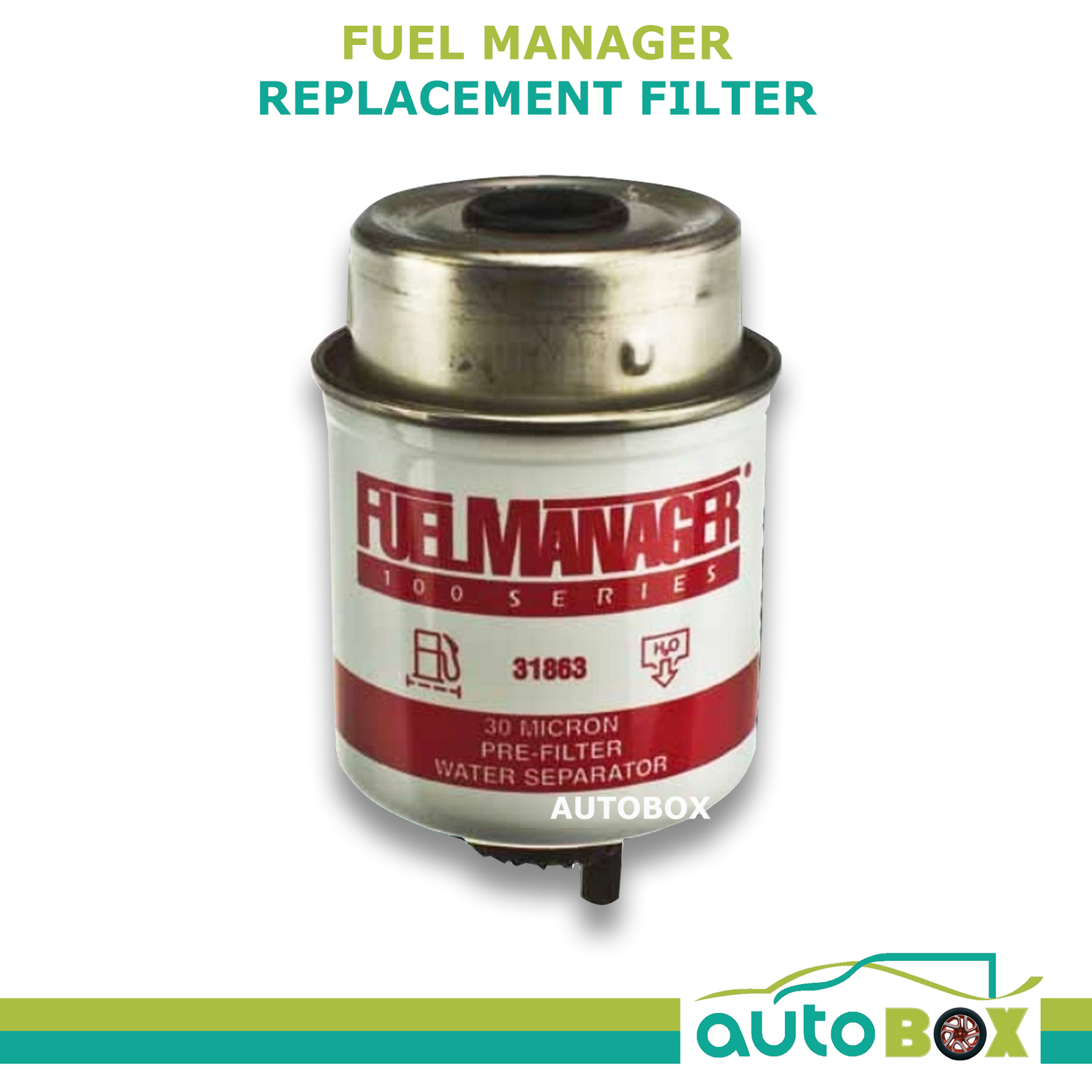 Fuel Filter Replacement : Fuel manager replacement filter diesel