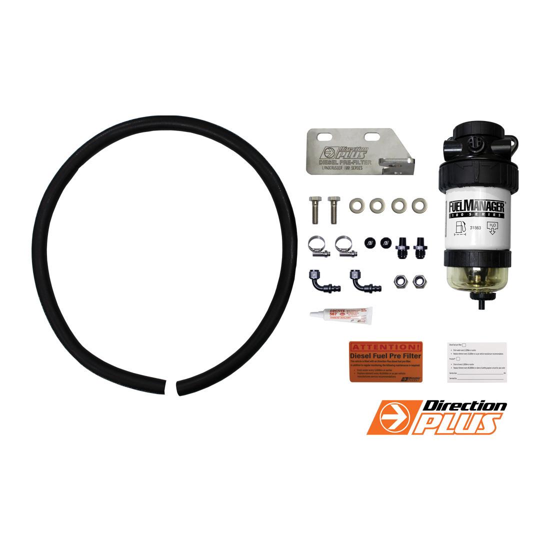 Diesel Fuel Filtration Sock : Diesel fuel filter water separator toyota landcruiser