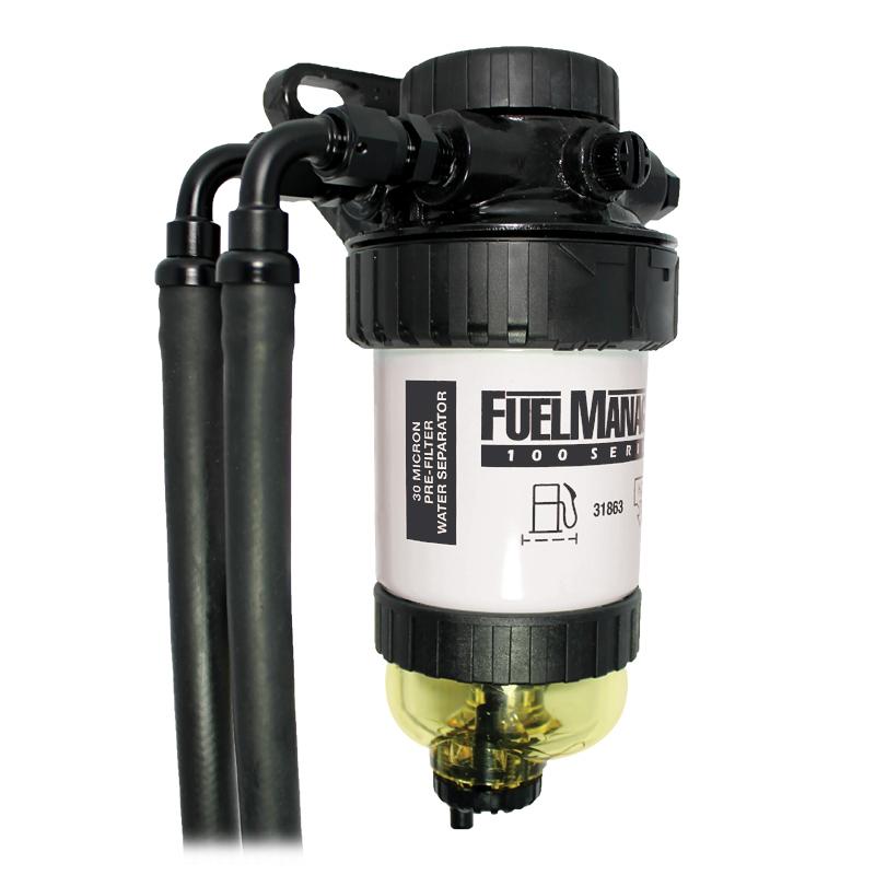 Diesel Fuel Filtration Sock : Diesel fuel filter water separator universal pre