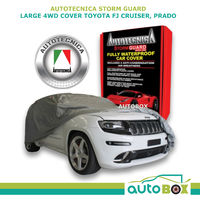 4WD Car Cover Stormguard Waterproof Large to 4.9M suits Toyota Rav 4 2019 onward
