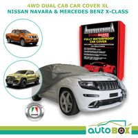 Car Cover Dual Cab 4WD Ute XL Stormguard Waterproof Navara X-Class No Canopy