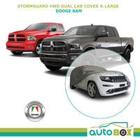 Car Cover Dual Cab 4WD XL Ute Stormguard Waterproof for Dodge Ram to 6.2M