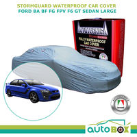 Autotecnica Stormguard Waterproof Car Cover Large for Ford BA BF FG FPV F6 GT