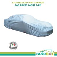 Autotecnica Stormguard Waterproof CAR COVER Large Sedan suits cars up to 5.2M