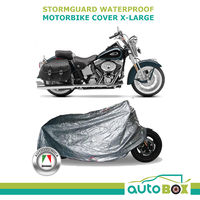 Autotecnica X-Large Stormguard Motorbike Cover Saddle Bags Sports Tourer Cruiser