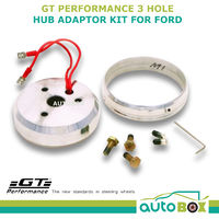 GT Performance 3 Hole Steering Wheel Boss Kit Hub Adaptor for Ford Mustang