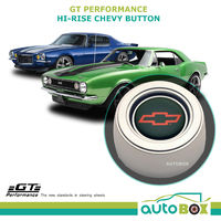 GT Performance Hi Rise Chevy Horn Button for GT3 Steering Wheels