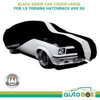 Black Washable Show Car Cover for Holden LX Torana Hatchback A9X SS Non-Scratch