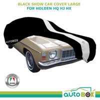 Indoor Black Softline Washable Show Car Cover for Holden HQ HJ HX HZ Non-Scratch