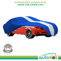 Blue Large 4.9m Show Car Cover Indoor Dust Classic Ford Mustang 1966 on
