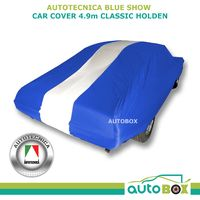 Autotecnica Blue Show Car Cover Large Indoor Classic Holden HQ HR HT fits 4.9m