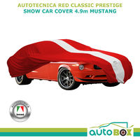 Autotecnica Show Car Cover Indoor Classic fits 4.9m Red Mustang All Models