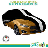 XL Washable BLACK SHOW CAR COVER fits FORD FG-X XR6 TURBO XR6 XR8 Non-Scratch
