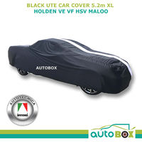 Autotecnica Indoor Show Car Cover For Holden VE VF HSV Maloo Ute Softline Black