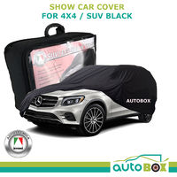 4WD / SUV Show Car Cover Black Audi Q7 BMW X5 X6 Ford Territory Everest Holden