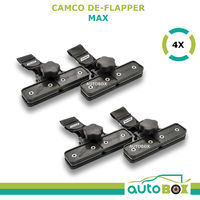 Camco Large Caravan Awning De-Flapper Tensioner  4 Pack Set Screen RV Flappers