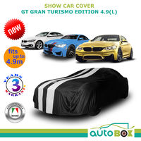 BLACK SHOW CAR COVER GT GRAN TURISMO BMW M4 Coupe M3 Sedan F30 F32 F33 F80