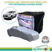Ultimate Car Hail Stone Storm Protection Cover 4WD to 4.9m Mitsubishi Pajero Sport