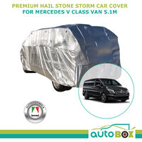Premium Hail Stone Car Cover to suit Mercedes V Class Van to 5.1M Window Protection