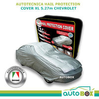 Autotecnica Car Hail Stone Storm Protection Cover X-Large 5.27m fits Chevrolet