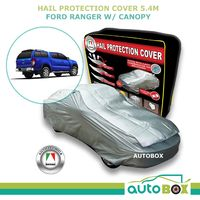 Car Hail Stone Storm Protection Cover 4WD to 5.4 metres Ford Ranger with Canopy