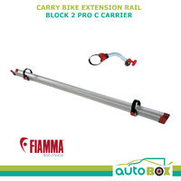 Fiamma Carry Bike Extension Rail and Block 2 Pro C Carrier Position 2 Camping