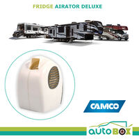 Fridge Cool Air Fan Airator w/ Switch Caravan Motorhome RV Camping Home Camco