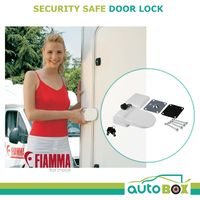 Fiamma Security Safe Door Lock Caravan Motorhome Boat Through Wall Fixing 04688