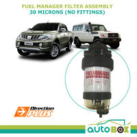Fuel Manager Filter Assembly 30 Micron (no fittings) FM100 42093 99% Water Remove