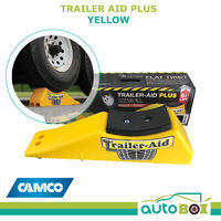 Camco Trailer Tyre Change Aid Plus Yellow Lightweight Caravan Motorhome Trailer