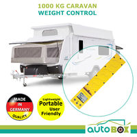 Reich Caravan Weight Control Yellow 1000KG 4WD Camper Motorhome Scale Load