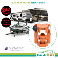 Saracen Ultra Security Hitch Lock Caravan Boat Camper Trailer Anti Theft SHL300