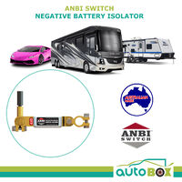 ANBI Switch Battery Isolator and Vehicle Theft Deterrent for Car Caravan RV Boat