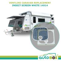 Ventline Caravan Roof Vent White Replacement Insect Screen 14x14 BVC0573-31