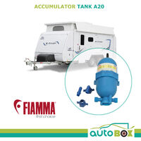 Fiamma Caravan Accumulator Tank A20 02478-01 Camper Trailer Motorhome RV Pop Top
