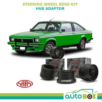 LJ LH LX UC TA TORANA SAAS STEERING WHEEL BOSS KIT HUB ADAPTOR 1972-1983