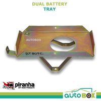 Piranha Dual Battery Tray for Toyota Landcruiser 80 Series 1990-98 1FZ-FE 4.5Ltr