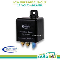 BAINTECH 40amp LOW VOLTAGE CUTOUT 12v CARAVAN MOTORHOME CAMPER TRUCK BATTERY