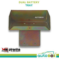 Piranha Dual Battery Tray Ford Ranger PX 10/2011 Onwards XLT Styleside
