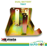 Piranha Dual Battery Tray  PX 11/2011 07/2016 PX Ford Ranger / Mazda BT50 Tray