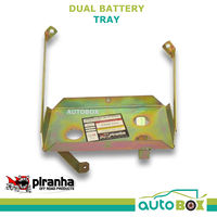 Piranha Dual Battery Tray for Toyota 78 79 Landcruiser 1999 -2007 1HD-FTE Diesel