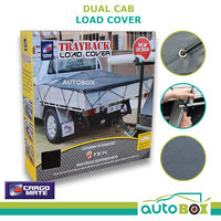 Dual Cab Ute Load Cargo Cover Heavy Duty Trayback Net Mesh UV Stabilised