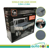 Cargo Net Single Cab Ute 2.5m x 2.0m Reinforced Mesh Load Cover Trayback