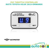 EVC iDRIVE THROTTLE CONTROLLER FOR TOYOTA HILUX 2015 Onward WINDBOOSTER
