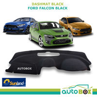 DashMat for Ford Falcon FG XT XR6 XR8 FPV Black Sunland Dash Mat Protection