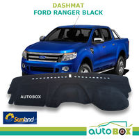 DashMat for Ford PX Ranger Black Sunland Dash Mat Protection Oct 2011 / Jun 2015
